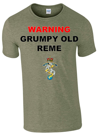 Bear Essentials Clothing. Grumpy REME T-Shirt