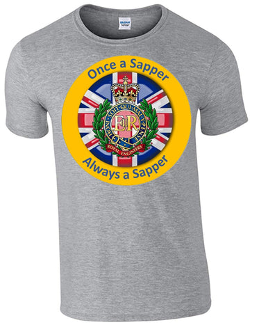 Bear Essentials Clothing. Once a Sapper T-Shirt