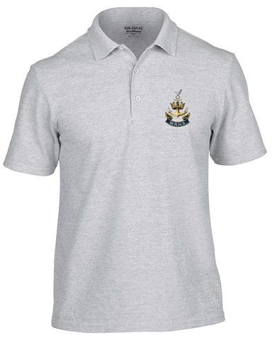 WRENS Polo Shirt (L, Grey) - Army 1157 Kit  Veterans Owned Business