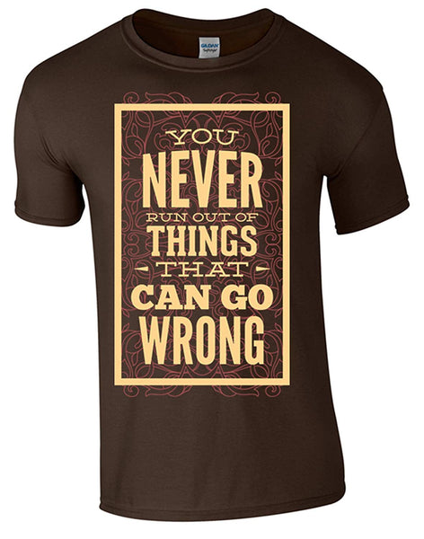 Bear Essentials Clothing. Never Run Out T-Shirt