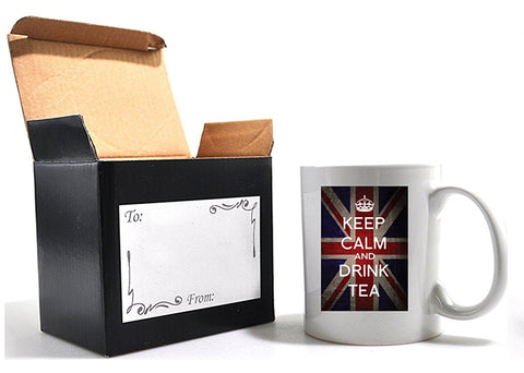 Keep Calm and drink tea mug with gift box - Army 1157 Kit  Veterans Owned Business