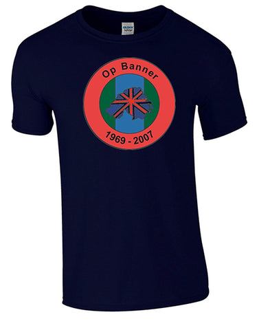 Northern Ireland Ops Banner T-Shirt