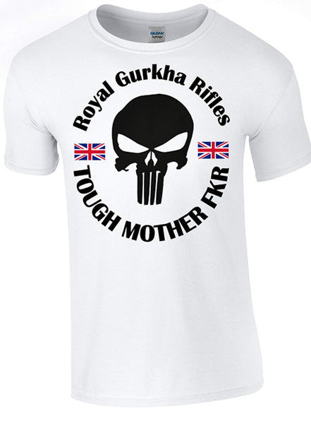 Tough Mother FKR - Gurkha T-Shirt - Army 1157 Kit  Veterans Owned Business