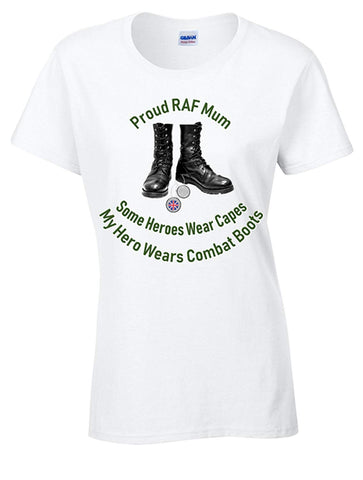 Bear Essentials Clothing Proud RAF Mum T-Shirt