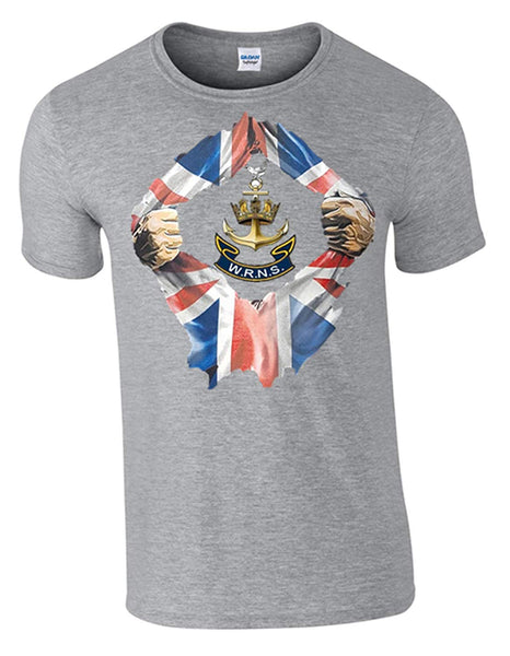 Wrens Breakthrough T-Shirt. Official MOD Approved Merchandise, Printed DTG (Direct to Garment) for a Permanent Finish. by Army 1157 Kit. - Army 1157 Kit  Veterans Owned Business