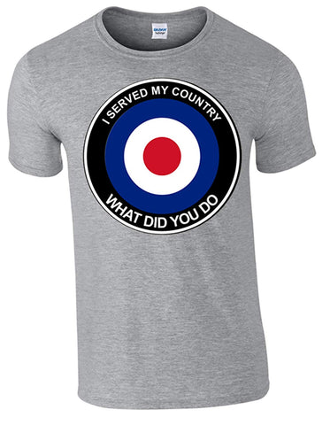 RAF What Did You do T-Shirt