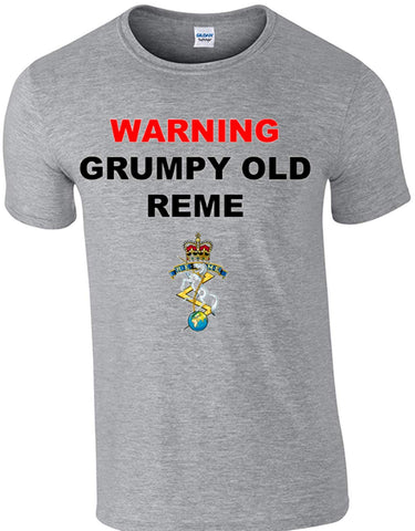 Grumpy REME T-Shirt - Army 1157 Kit  Veterans Owned Business