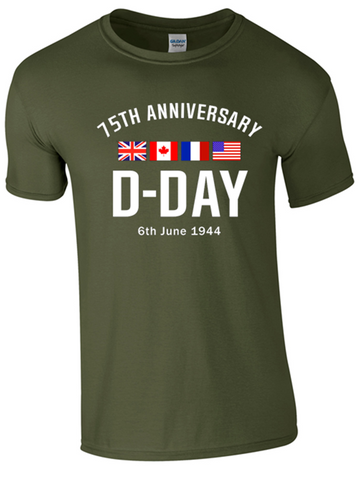 D-Day 75th Anniversary T-Shirt