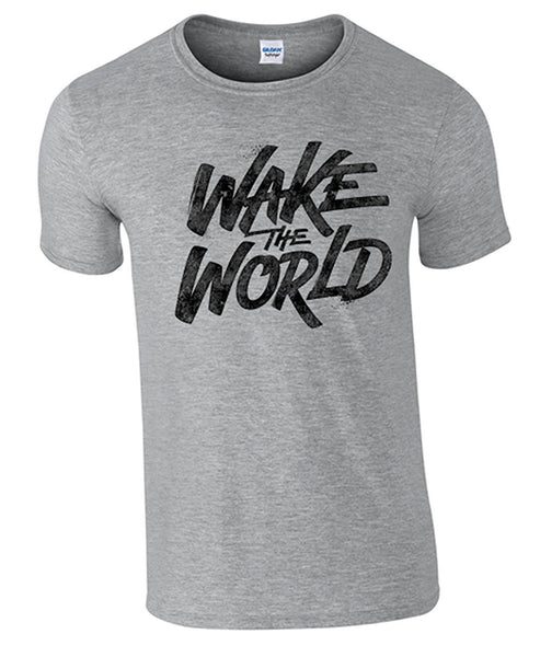 Bear Essentials Clothing. Wake The World T/Shirt - Army 1157 Kit  Veterans Owned Business
