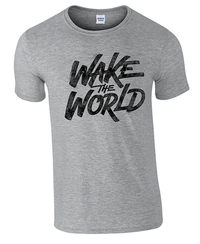Bear Essentials Clothing. Wake The World T/Shirt - Bear Essentials Clothing Company