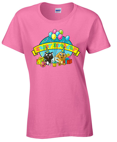 Bear Essentials Clothing. Happy Birthday Kids T/Shirt - Bear Essentials Clothing Company