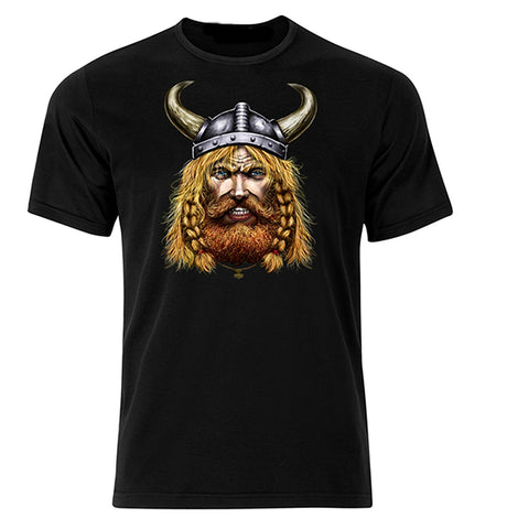 Bear Essentials Clothing. Viking Plain T-Shirt (XXL, Black,) - Bear Essentials Clothing Company