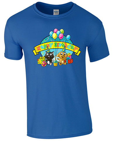 Bear Essentials Clothing. Happy Birthday Kids T/Shirt - Army 1157 Kit  Veterans Owned Business