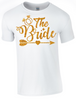 Hen Party Bride and Bride Crewe T-Shirts