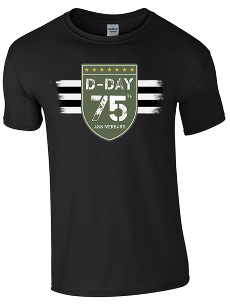 D-Day 75th Anniversary T-Shirt 2 - Army 1157 Kit  Veterans Owned Business