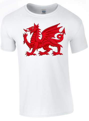 St David's Day Dragon T-Shirt Printed DTG (Direct to Garment) for a Permanent Finish. - Army 1157 Kit  Veterans Owned Business
