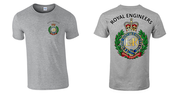 Royal Engineers Double Print in Colour T-Shirt