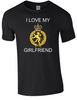 I Love my WRAC Girlfriend Ministry of Defence  Official MOD Approved Merchandise