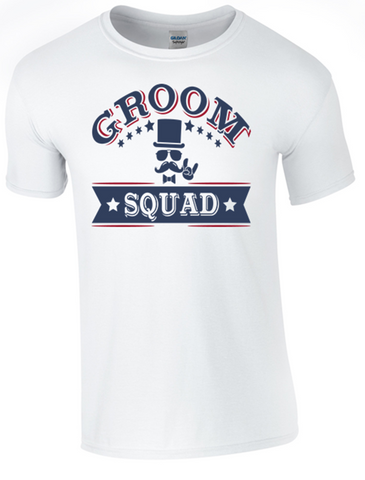 Groom Squad T-Shirt - Army 1157 Kit  Veterans Owned Business