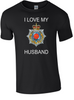 I Love my Royal Corp Transport (RCT) Husband T-Shirt Official MOD Approved Merchandise