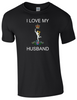 I Love my Royal Signals Husband T-Shirt Official MOD Approved Merchandise - Army 1157 Kit  Veterans Owned Business