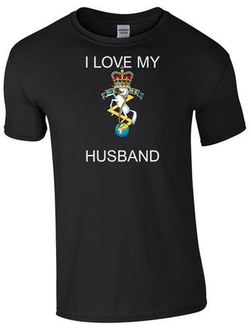 I Love my REME Husband T-Shirt Official MOD Approved Merchandise