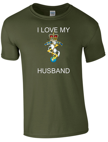 I Love my REME Husband T-Shirt Official MOD Approved Merchandise - Army 1157 Kit  Veterans Owned Business