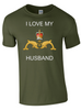 I Love my Submariner Husband T-Shirt Official MOD Approved Merchandise - Army 1157 Kit  Veterans Owned Business