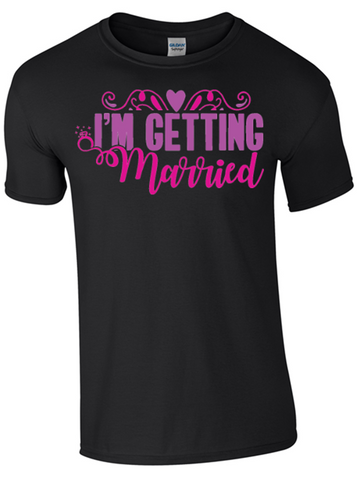 Hen Party T-Shirts for Bride and Friends