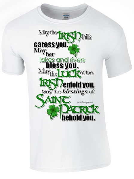St Patricks Day Celebrations T-Shirt Printed DTG (Direct to Garment) for a Permanent Finish