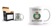 Valentine Royal Engineer I Love my Boyfriend Mug and Gift Box set Ministry of Defence Official MOD Approved Merchandise - Army 1157 Kit  Veterans Owned Business