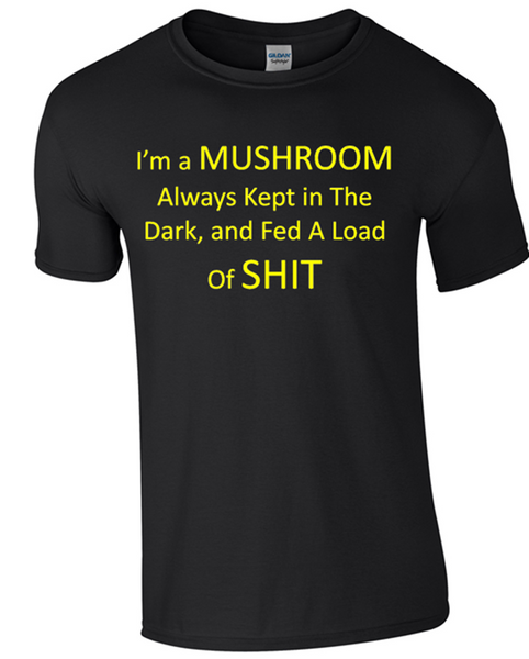 I´m a Mushroom T-Shirt - Army 1157 Kit  Veterans Owned Business