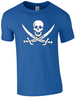 Pirate T-Shirt Printed DTG (Direct to Garment) for a Permanent Finish. - Army 1157 Kit  Veterans Owned Business