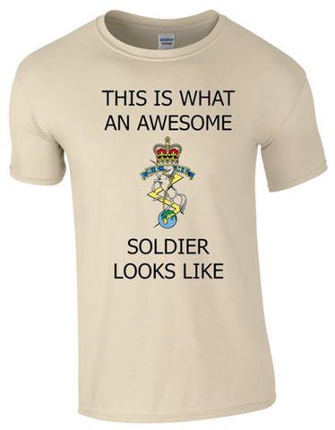 Valentines Special - This is What an Awesome REME Soldier Looks Like Ministry of Defence Official MOD Approved Merchandise