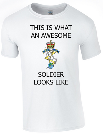 Valentines Special - This is What an Awesome REME Soldier Looks Like Ministry of Defence Official MOD Approved Merchandise - Army 1157 Kit  Veterans Owned Business