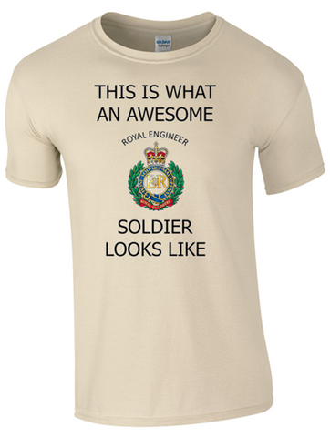 Valentines Special - This is What an Awesome Royal Engineer Soldier Looks Like Ministry of Defence Official MOD Approved Merchandise