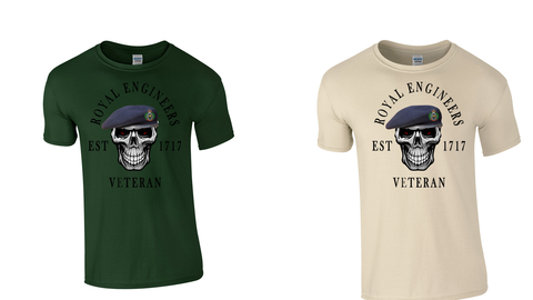 2021 Royal Engineers Veteran T shirt