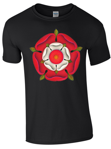 St George's Day English Rose T-Shirt Printed DTG (Direct to Garment) for a Permanent Finish. - Army 1157 Kit  Veterans Owned Business