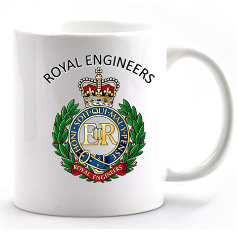 Royal Engineers mug and gift box set