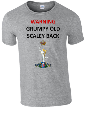 Grumpy Old SCALEY Back T-Shirt