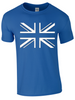 Union Jack T-Shirt Printed - Army 1157 Kit  Veterans Owned Business