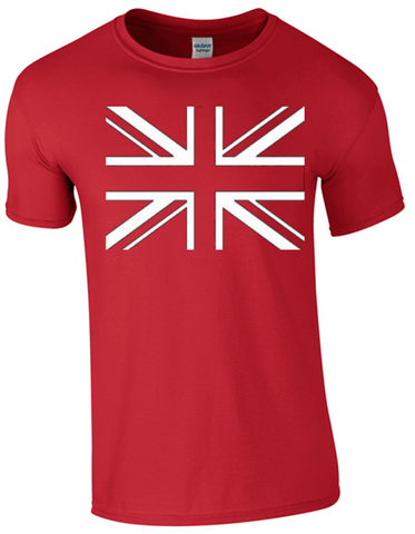 Union Jack T-Shirt Printed DTG (Direct to Garment) for a Permanent Finish.