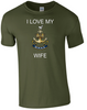 I Love my Wren Wife Ministry of Defence  Official MOD Approved Merchandise