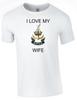 I Love my Wren Wife Ministry of Defence  Official MOD Approved Merchandise - Army 1157 Kit  Veterans Owned Business