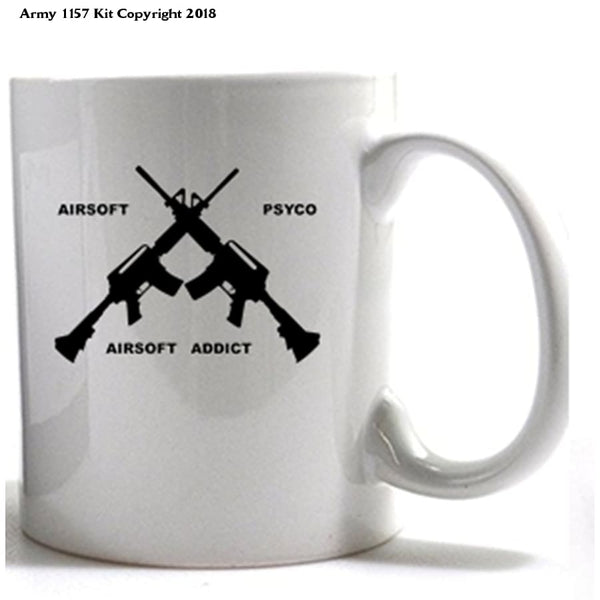 Airsoft Mug - Army 1157 Kit  Veterans Owned Business