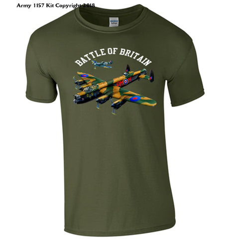 Battle Of Britain T-Shirt - S / Green - T Shirt
