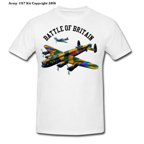 Battle Of Britain T-Shirt - S / White - T Shirt