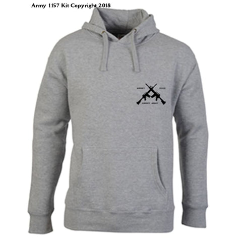 Bear Essentials Clothing. Airsoft Hoodies - X-Large / Grey - Hoodie