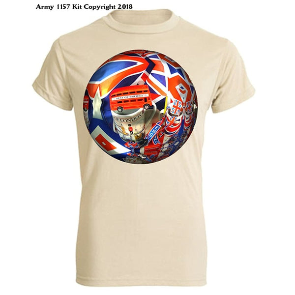 Bear Essentials Clothing. Around London T-Shirt - Army 1157 Kit  Veterans Owned Business