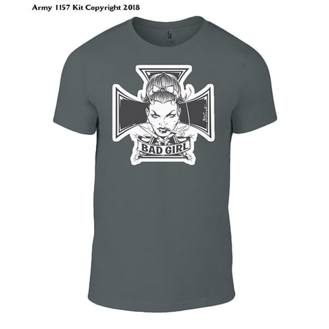 Bear Essentials Clothing. Bad Girl - Army 1157 Kit  Veterans Owned Business